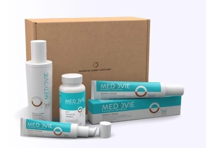 Medovie skincare products
