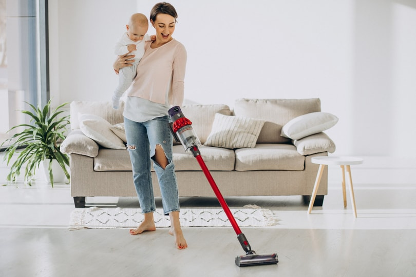 Avoid eczema flare ups by keeping your home dust-free